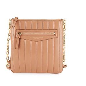 Donna Karan Quilted Leather Crossbody Bag